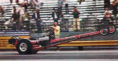 History - Drag cars in motion. Nostalgia, Top Fuel Dragster, Nhra Drag Racing, Vintage Race Car, Drag Cars, Ol Days, Car Humor, Car Show, Classic Cars