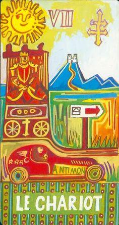 The Chariot - Tarot Piatnik Wien (Pointner Tarot) - Rozamira Tarot - Picasa Web Albums