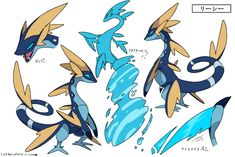 Possible Sobble evolution? Pokemon Comics, Pokemon Fan Art, New Pokemon, Pokemon Fusion, Pokemon Fake, Fantasy Creatures, Mythical Creatures, Cartoon Monsters, Pokemon Pictures