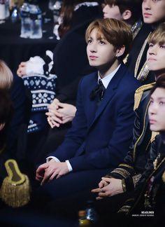 Jungkook ❤ BTS At The 26th Seoul Music Awards (170119) #BTS #방탄소년단