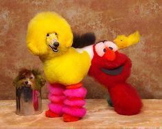 toilettages de chien insolites 3   Toilettages de chien insolites   toilettage Ren Netherland photo maquillage image chien body painting