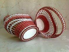 Тамара Задорина - Мои плетёнки из бумажных трубочек. | OK.RU