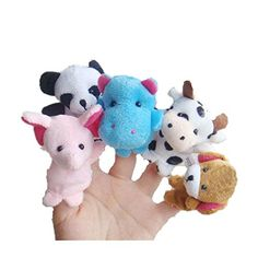 Education ToyBaomabao 10pcs Animal Finger Puppet Plush Child Baby Early Education Toys Gift  Feature:    100% brand new and high quality.    Quantity:   10 (10 different Finger animals)    Foster your kids creativity    Enhance the expression and parent-child interaction    This product is also very easy and safe for kids to play it by themselves    Material:  Flannel    Size Approximately Length:  6.5-7.0cm,Width:5.5-6.0cm    Color:  as Shown    As different computers display colors..