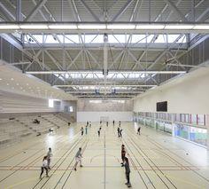 Gallery of Gymnase Jean Gachet / LINK - Chazalon Glairoux Lafond - architectes associés - 7