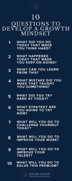 Growth mindset, growth mindset questions, kids growth mindset
