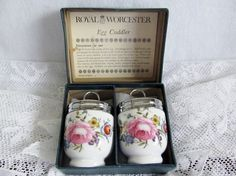 Vintage Royal Worcester Egg Coddler Set / by WalkersWimseys, $45.00