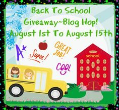 Nish Homeschool Blog : Back To School Giveaway Blog Hop!
