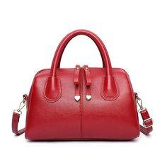 ACELURE Women Fashion Pu Leather Bag Luxury Women Boston Bag Casual Ladies Handbag Shoulder Bags European Style Female Tote Bag