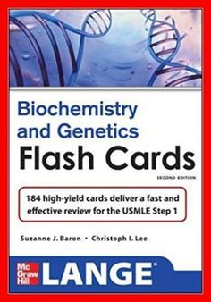 http://9plr.ecrater.com/p/28288671/lange-biochemistry-and-genetics-flash-cards - Lange Biochemistry and Genetics Flash Cards 2nd Edition by Suzanne Baron - PDF eBook