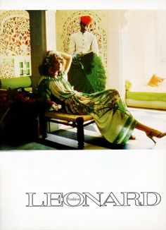 Leonard Paris Fashion 1970s