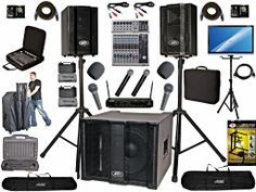Easily handle any average size bar, small party hall. Dj System, Speaker System, Karaoke System, Bring It On, Party, Parties