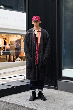 Moon Sunkyu, Street style men winter 2017 in seoul