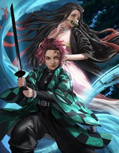 Demon Slayer - FanArt by Ron-faure on DeviantArt Anime Films, Anime Characters, Fictional Characters, Manga Art, Anime Manga, Graphic Novel Art, League Of Legends Characters, Voltron Fanart, Dragon Slayer