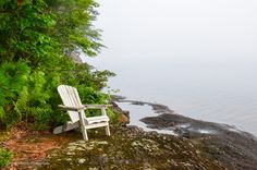 Have a seat, take a deep breath and relax. Outdoor Chairs, Outdoor Furniture, Outdoor Decor, Take A Deep Breath, Landscape Photography, Relax, Home Decor, Homemade Home Decor, Garden Chairs