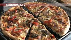 Pizza jak z pizzerii -HIT każdej imprezy! Cooking Recipes, Healthy Recipes, Vegan Pizza, Vegetable Pizza, Brunch, Food And Drink, Yummy Food, Meals, Snacks