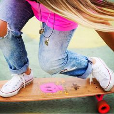 New Dusters California x Girl is NOT a 4 Letter Word longboard. Coming this summer! Skateboarding is for girls <3