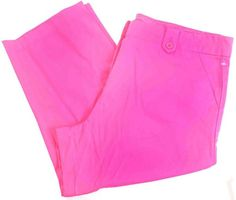 3d040e7a3cf Hot Pink Capri Pants by the Limited Women s Crop Pant. Plus Size ...