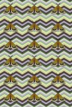 Timorous Beasties Fabric - Bell Moth