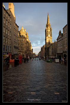 Edinburghs most famous street...Royal Mile