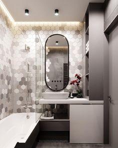 С добрым утром! Какую ванную комнату вы выбрали бы для себя 1 или 2? Ванная или душ? #dom_tvoej_mechty_ванная Автор:…
