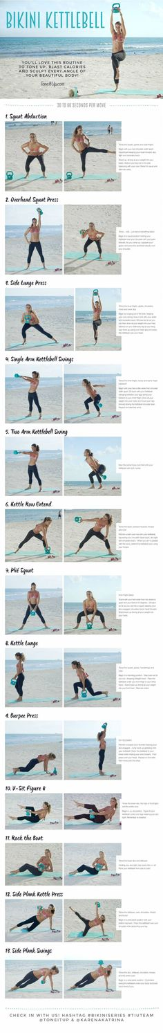 NEW Workout ~ BIKINI KETTLEBELL!