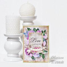 Love Is All You Need *DT Lemonade* - Scrapbook.com