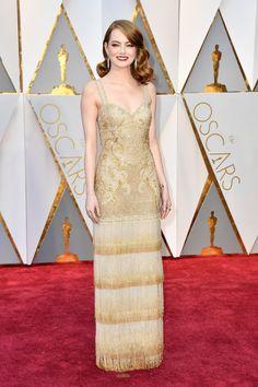 Emma Stone in Givenchy - Oscars 2017