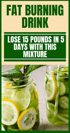 Afat burning beverage to lose 15 lbs in 5 days using ingredients that are natural. Losing weight isn& easy but it could be accomplished readily w. Healthy Brain, Get Healthy, Drinking Lemon Juice, Low Calorie Diet Plan, Lose 15 Pounds, Juicing For Health, Fat Burning Drinks, Greens Recipe, Detox Drinks