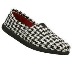 BOBS shoes ~ #Alabama #Houndstooth ~ Skechers.com #RollTide