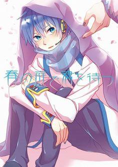 Tags: Meri, VOCALOID, KAITO, Fanart, Doujinshi Cover Kaito Shion, Vocaloid Kaito, Doujinshi, Harley Quinn, Fan Art, Gallery, Anime, Cute Boys, Boyfriend