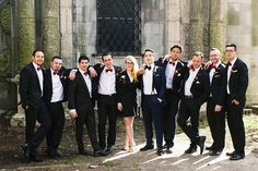27 Awesome Groomsmen Photos ~  we ❤ this! moncheribridals.com  #groomsmensuits