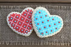 Valentine's Day Sugar Cookies / Valentine's by guiltyconfections