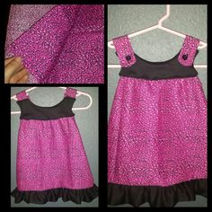 Baby girl dress-to-shirt size 12-24 mo $25 -nTICing dEsigns