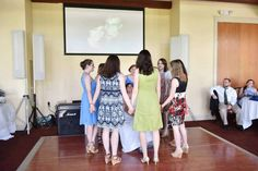 I had two sorority sisters as bridesmaids, including my little! At the reception, all my sisters that attended joined hands and sang the Candle Lighting song to me and then we taught my new husband how to do the best hand sign of them all.