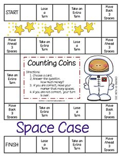 Space case- counting money game
