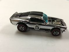 Hot Wheels Redline Mustang Boss Hoss  Redline Club Car