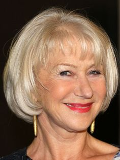 Helen Mirren's chin-length crop is perfect for finer hair - get the look!