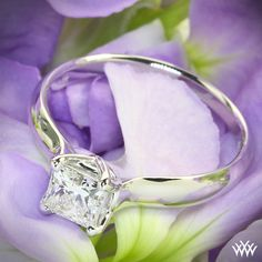 .73ct A CUT ABOVE Diamond set in W Prong Solitaire Engagement Ring