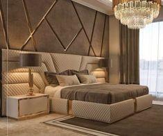 Modern Luxury Bedroom, Luxury Bedroom Design, Master Bedroom Interior, Modern Master Bedroom, Room Design Bedroom, Bedroom Furniture Design, Luxurious Bedrooms, Interior Design, Cama Design