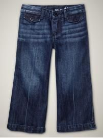 bahahaha wide leg jeans for kiddies... so dang cute!!