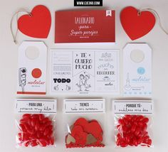 Pack para parejas. Una forma original de sorprender a tu pareja. Perfecto para aniversarios y San Valentín.
