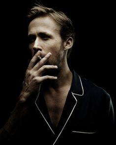 Ryan Gosling Black and White Portrait Session 64th Cannes Film Festival (2011) #smoke