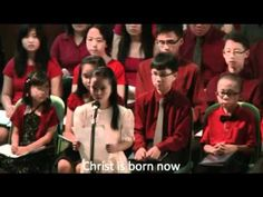 Holy Night, Blessed Night sung by Chuah Jia Ning - YouTube