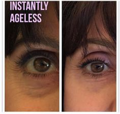 Within 2 minutes, Instantly Ageless reduces the appearance of under-eye bags, fine lines, wrinkles and pores, and lasts 6 to 9 hours. Facelift In A Bottle, Under Eye Bags, Cellular Level, Helping Other People, Transformation Tuesday, Beauty Secrets, Health And Beauty, Anti Aging, Skin Care