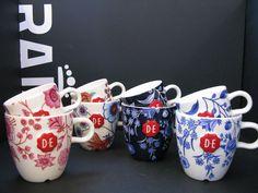 #Hindeloopen #mugs for Douwe Egberts Loyalty