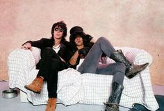 Izzy and Slash