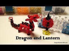 ▶ Rainbow Loom Dragon Charm/action Figure - How to - YouTube