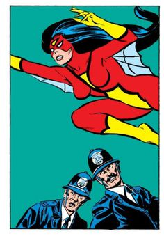 SPIDER-WOMAN by Carmine Infantino