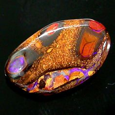 solid crystal boulder opal - natural beauty beyond description!!!