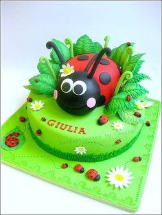 ladybug kids-cakes